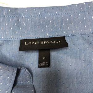 Lane Bryant Tops - LANE BRYANT   sz 22 button down blouse